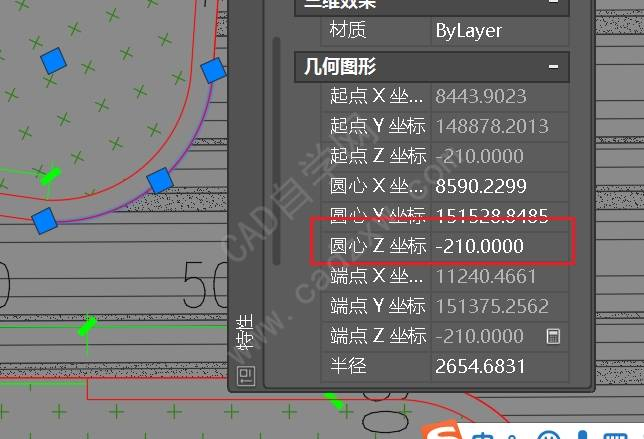 天正CAD弧长怎么标记?
